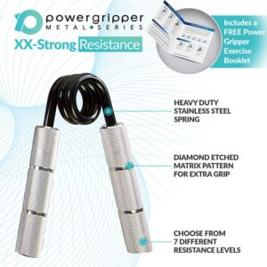PowerGripper Silver 300lbs (XX-Strong)