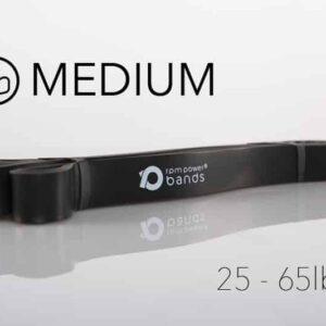 Resistance Band Black   21mm (Medium) 25 - 65lbs