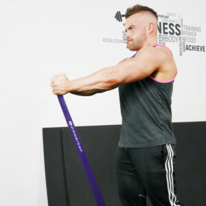 Resistance Band Purple (Strong) 35 - 85lbs