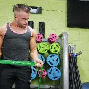 Resistance Band Green (Extra Strong) 50-125lbs