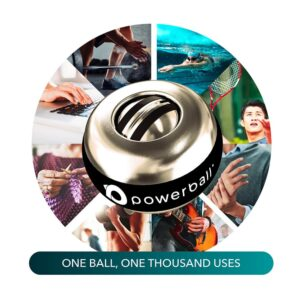 titan autostart aluminium metal series powerball