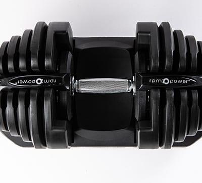 40kg adjustable dumbbell close up