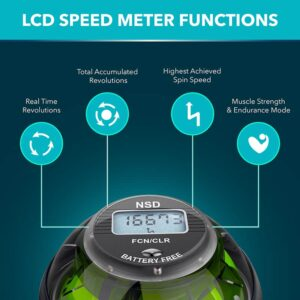 powerball speed counter functions