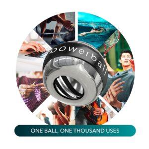 metal finger exerciser, high quality powerball