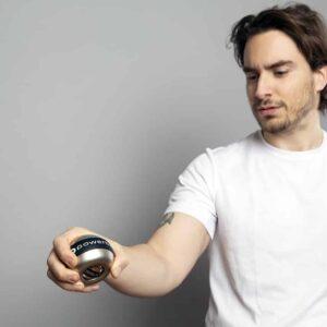 metal gyroscope for strengthening