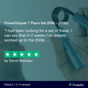 PowerGripper 7 Piece Set (50lb - 350lb)