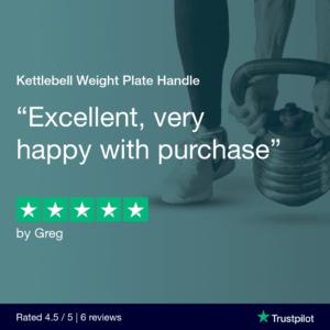 Kettlebell Weight Plate Handle