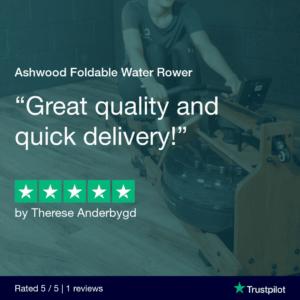 Ashwood Foldable Water Rowing Machine