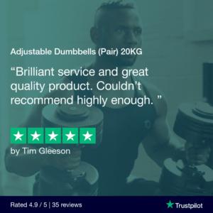 Adjustable Dumbbells 20KG (Pair)