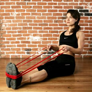 extra stretch resistance band, exercise band