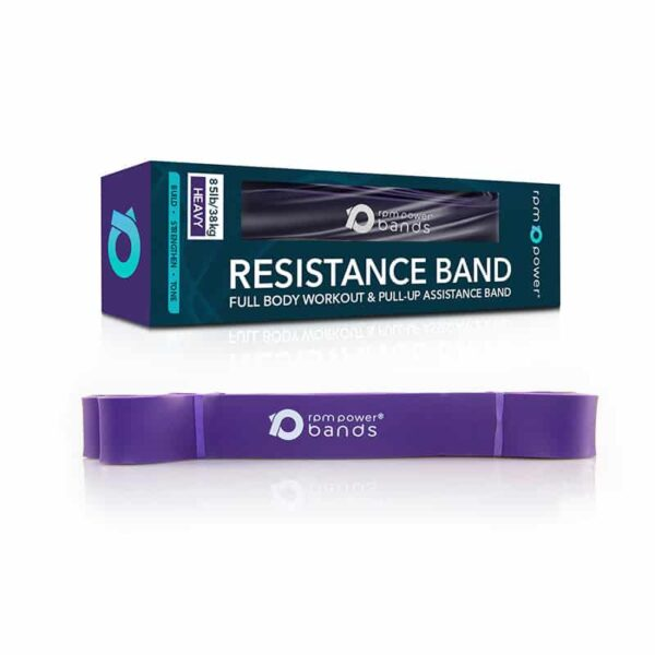Resistance Band Purple (Strong) 35 - 85lbs resistance bands powerlifting