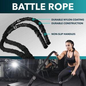 "Battle Rope | 15 Meter - 50mm 2"" Diameter"
