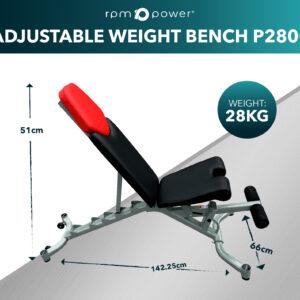 Adjustable Weight Bench P2800