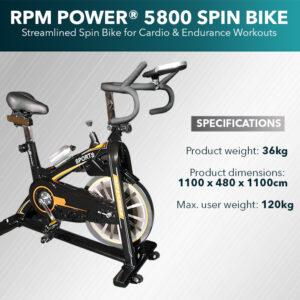 Spin Bike 5800