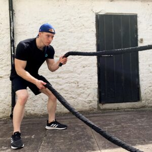 Battling Rope in Use