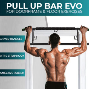Door Pull Up Bar Evo with Straps