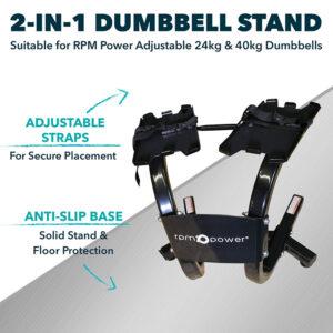 Adjustable Dumbbell Stand (24 & 40kg)