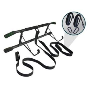 Door Pull Up Bar with Suspension Straps