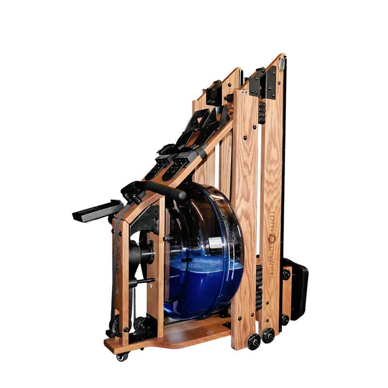 folded rowing machine, rpm power