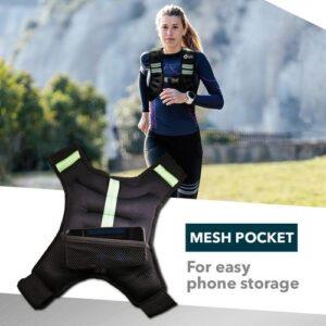 weight vest 5kg rpm power, cardio