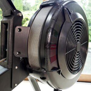 adjustable resistance air rower