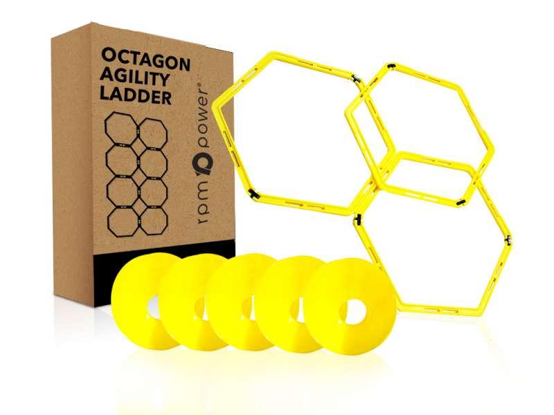 Hexagonal Agility Ladder Pack