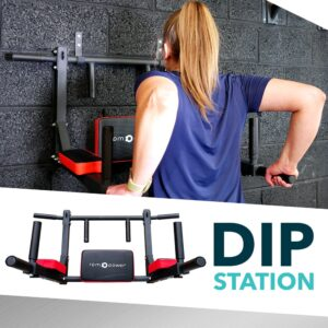 dip station and pull up bar in one, dip station