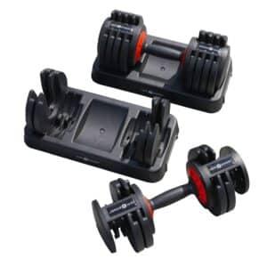 Adjustable Dumbbells 25KG (Pair)