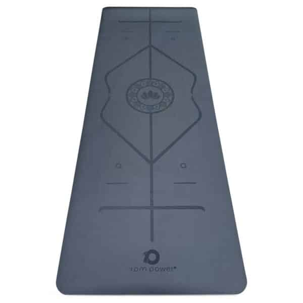 'Padmasana' PU Yoga Mat (Dark Olive)