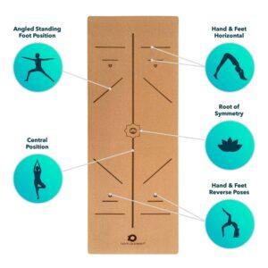 'Camatkarasana' Eco Cork Yoga Mat