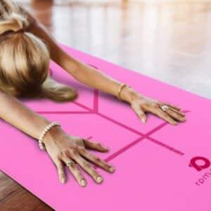 'Padmasana' Yoga Mat (Pink)